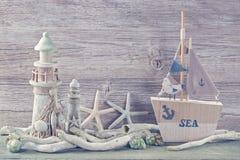 Garnering för marin- liv Arkivbild