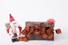 Garnering för nya år och jul Fotografering för Bildbyråer
