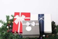 Garnering för nya år och jul Royaltyfria Bilder
