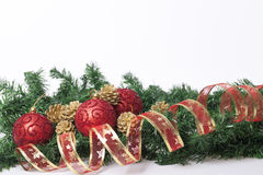 Garnering för nya år och jul Royaltyfri Fotografi