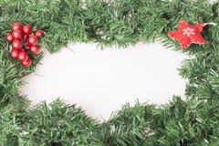 Garnering för nya år och jul Arkivfoton