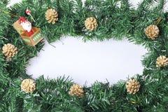 Garnering för nya år och jul Royaltyfri Bild