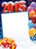 Garnering 2015 för nytt år Arkivbild