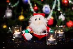 Garnering för nytt år för jul Royaltyfri Bild