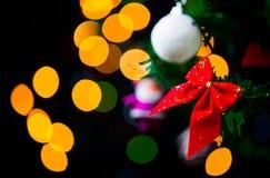 Garnering för nytt år för jul Arkivbild