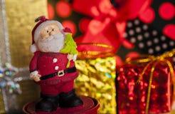 Garnering för nytt år för jul Arkivfoto