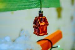 Garnering för ` s för jul och för nytt år Arkivfoton