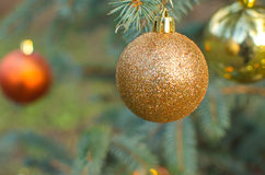 garnering fyra för jul för bakgrundsbollblack Fotografering för Bildbyråer