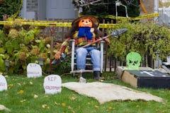 garnering halloween Arkivfoton