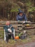 garnering halloween Royaltyfria Bilder