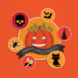 garnering halloween Royaltyfri Foto