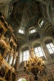 Garnering i den ryska Christian Church Royaltyfri Bild