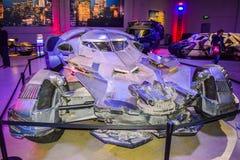 Garneringar Batman för DC-teckenuppassaren ställer in kändisen, teckenet Batman, den ljusa uppassaren, den Batman nivån, dräkten  Arkivfoto