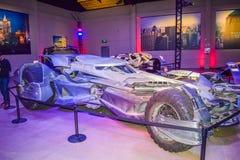 Garneringar Batman för DC-teckenuppassaren ställer in kändisen, teckenet Batman, den ljusa uppassaren, den Batman nivån, dräkten  Fotografering för Bildbyråer