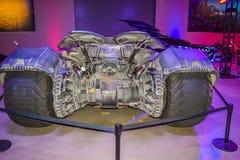 Garneringar Batman för DC-teckenuppassaren ställer in kändisen, teckenet Batman, den ljusa uppassaren, den Batman nivån, dräkten  Royaltyfri Fotografi