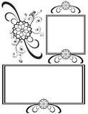 garneringar detailed infall vektor illustrationer