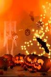Garneringar för Halloween Royaltyfri Foto