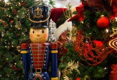 Garneringar för julferieträd Arkivbild
