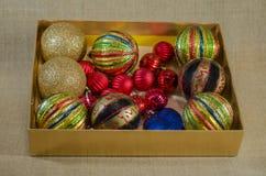 Garneringar för julgran Arkivbild
