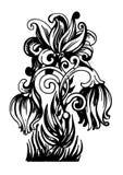 garneringblomma stock illustrationer