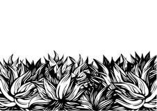 garneringblommor vektor illustrationer