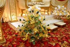 garneringbröllop royaltyfria foton