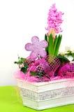 garneringen blommar huset Fotografering för Bildbyråer