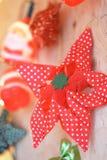 Garneringen för julen marknadsför Royaltyfri Foto