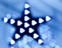 garneringgirlandstjärna Arkivfoto