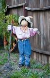 garneringhalloween scarecrow Royaltyfria Foton