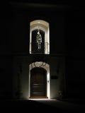 garneringhalloween skelett Royaltyfri Foto