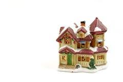 garneringhus för 5 jul arkivbilder