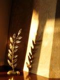 garneringlampa arkivbild