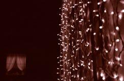 garneringlampor Arkivfoton