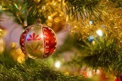 garneringsnowman för 2 cristmas royaltyfria foton