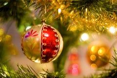 garneringsnowman för 2 cristmas royaltyfri foto