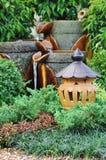 garneringträdgård Arkivbilder