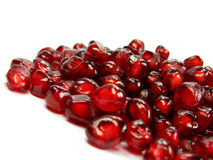 Garnet 3. Garnet very healthy and rich vitamin fruit royalty free stock photos