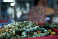 Garnet beautiful holiday in year-round family fun.  Kanchanaburi jewelery   souvenir Royalty Free Stock Photos