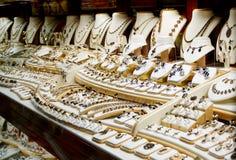Garnet biżuterii sklep Fotografia Royalty Free