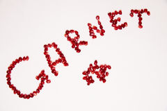 Garnet Royalty Free Stock Photography
