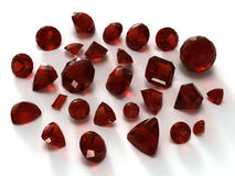 Garnet gems Royalty Free Stock Image