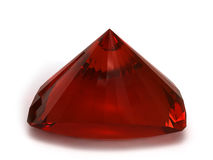 Garnet gemstone Royalty Free Stock Photography