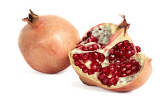 Garnet, pomegranate berries Stock Images