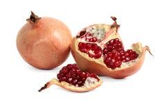 Garnet, pomegranate berries Stock Photos