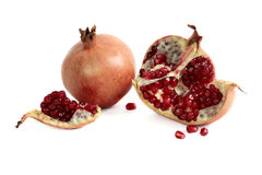 Garnet, pomegranate berries Stock Image