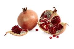 Garnet, pomegranate berries Stock Image