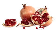 Garnet, pomegranate berries Royalty Free Stock Image
