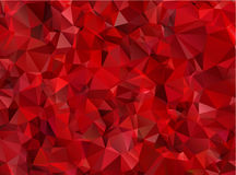 Garnet red abstract background polygon Stock Image