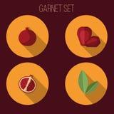 Garnet set Obrazy Royalty Free
